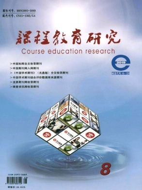 2019年08期课程教育研究杂志目录
